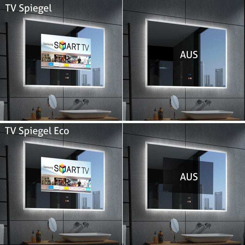 Spiegel mit Fernseher kaufen - CLEAR ECO | Spiegel21